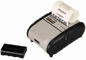 Thermal Printer is equipped with 2.2 A lithium battery.