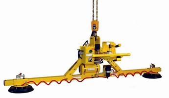 Flat Lifter handles material horizontally.