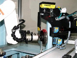 Robotic Vision Cell examines 150 features in 5 sec.