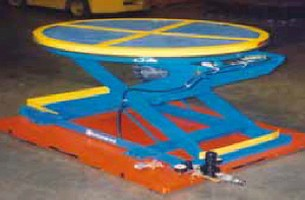 Lift Tables safely and ergonomically move heavy loads.