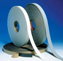 Vinyl Foam Tapes provide sealing, cushioning, and gasketing.