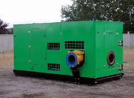 Pump System produces 71-72 dBA from 7 m.
