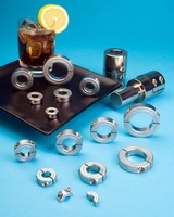 Chrome Plated Shaft Collars Offer Bright Finish and Corrosion Protection