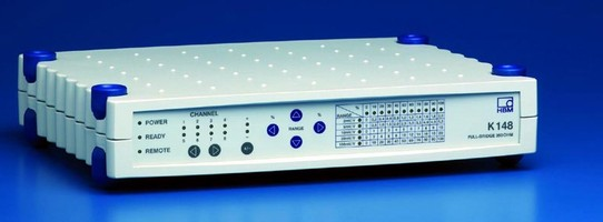 Calibration Unit simulates full-bridge amplifiers.