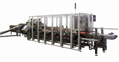 Cartoner offers speeds of up to 200 cartons/minute.