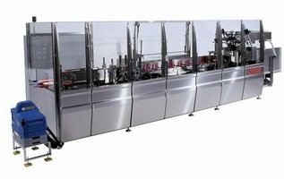 Cartoner can handle broad range of products.