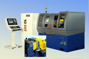Grinding Machine is CNC controlled and CE compliant.