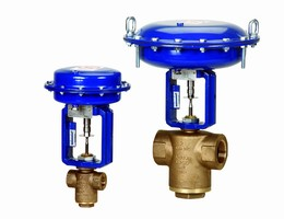 Control Valve offers 2- and 3-way configurations.