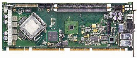 System Host Board provides 20 lanes of PCI Express.