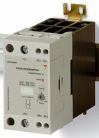 Solid State Relays have current monitoring feature.