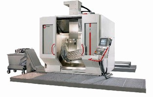Machining Center handles large, heavy parts and molds.