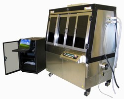 Inkjet Printer provides positional repeatability of ±1 µm.