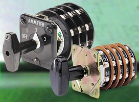 Detent-Action Rotary Switches suit industrial applications.