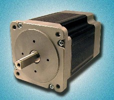 Hybrid Stepper Motors enable open loop control.
