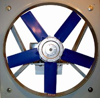 Panel Fan offers capacities to 34,000 cfm.