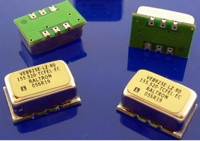 VCXOs are available in UHF and HF versions.
