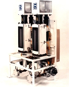 Dispense System varies flow rate, shot size and mix ratio.
