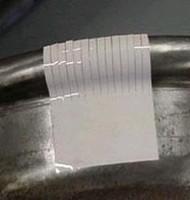 Sensor Film detects pressure from 2-43,200 psi.