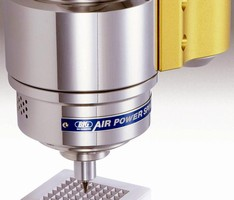 High-Speed Spindle suits micromachining applications.