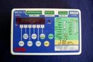 Controller tests motor-driven equipment.