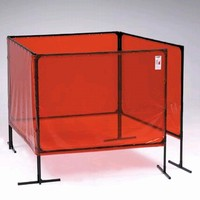 Welding Screen features scratch-resistant paint.
