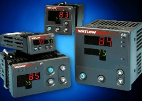 Temperature Controllers include adaptive control algorithm.