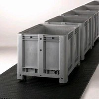 Plastic Modular Belt offers maintenance-free operation.
