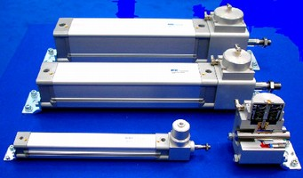 ISO Cylinders feature pneumo-hydraulic brake systems.