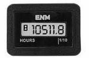 LCD Maintenance Hour Meter provides 2 preprogrammed alerts.