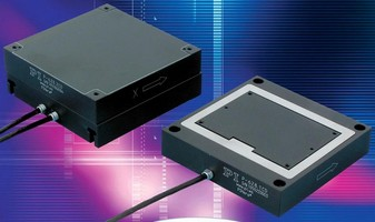 XY Piezoelectric Stages feature 1,000 µm travel range.