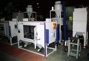Abrasive Blast System suits continuous strip applications.