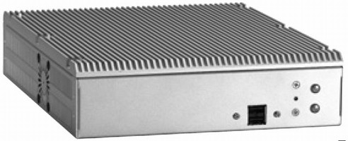 Noise-Free Embedded Computer features fanless operation.