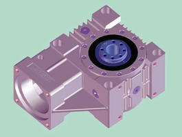 Servo Worm Reducers are available in 4 versions.