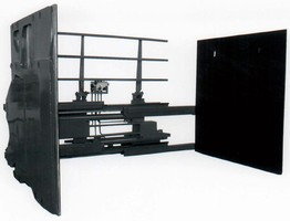 Carton Clamp automatically adjusts clamping force.