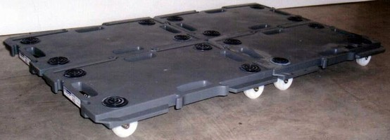 Modular Cart Dolly facilitates material movement.
