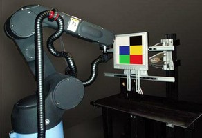 Robotic System measures large-area displays.