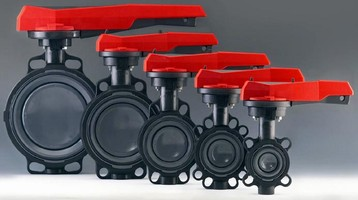 Butterfly Valve is suited for corrosive applications.