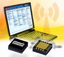 Power Amplifier extends range in WLAN applications.