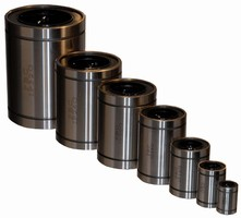 Linear Ball Bearings are offered in standard inch sizes.