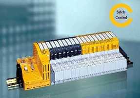 Modules deliver standard and safety control functions.