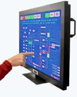 LCD Displays utilize optical scanner touchscreen technology.