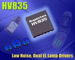 EL Lamp Drivers target handheld wireless devices.