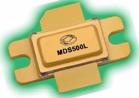 Pulsed Power Transistor targets avionics applications.