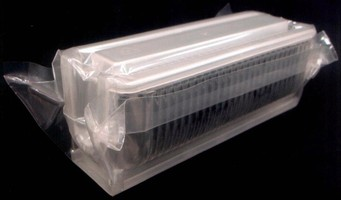 Clear Plastic Film protects products during storage.
