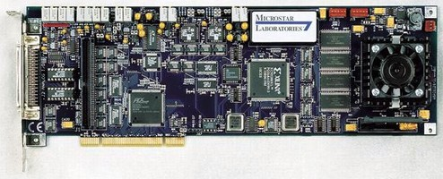 Pentium Powered DAP Board offers real-time processing.