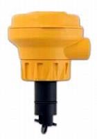 Flow Sensors utilize paddlewheel technology.