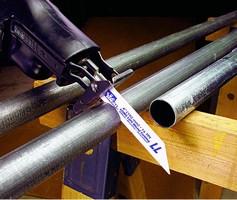 Cobalt Saw Blades cut through various metals.