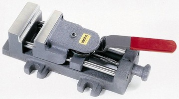 Low-Profile Vise offers single-handed operation.