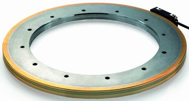 Angle Encoders have bearingless, hollow shaft design.