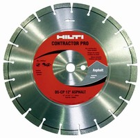 Diamond Blades are designed for high-speed gas saws.